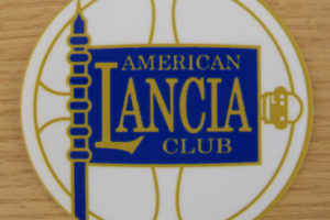 american lancia club sticker