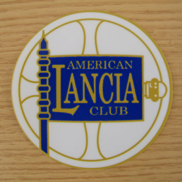 american lancia club sticker